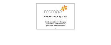 ENERGOBAN SP Z O O